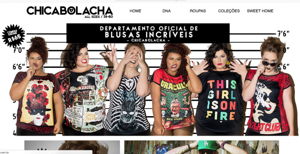 loja virtual chica bolacha plus size