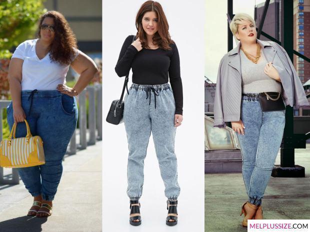 calça-jeans-jogger-gordinha