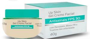 creme facial up skin antissinais