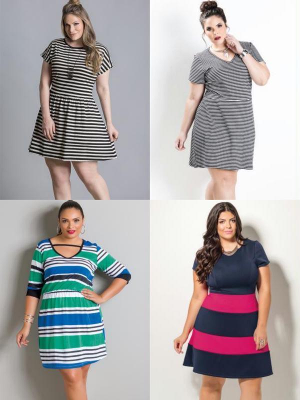 comprar-vestido-listrado-plus-size